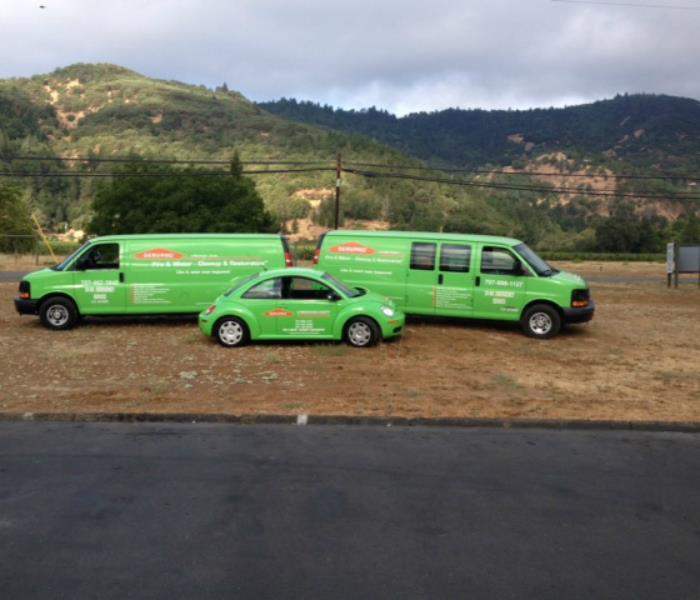 Our vehicles for Mendocino County